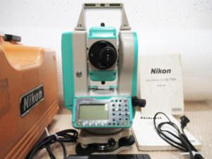 ニコン トータルステーション NST-305C Q-75D クイックチャージャ