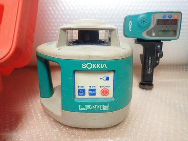 ソキア レベルプレーナ LP415 受光器 LR200