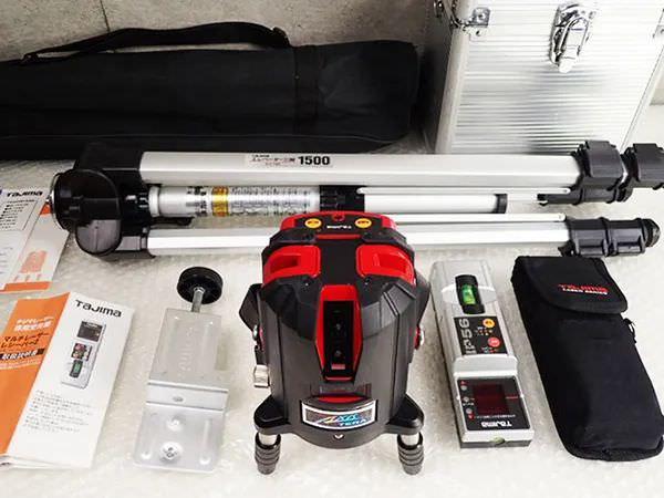 Tajima タジマ 高輝度レーザー墨出し器 AXT-KYR&レシーバー・三脚セット