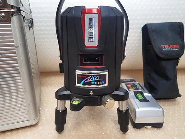 タジマ AXT-KYR レーザー墨出し器 ML-RCV2 受光器付き