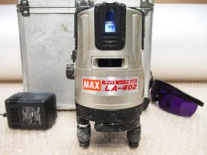 MAX マックス レーザー墨出し器 LA-402A